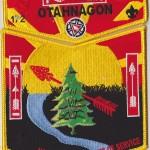 Otahnagon Lodge #172 2015 NOAC Set 3 Yellow Border S34 X7