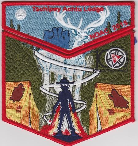 Tschipey Achtu Lodge #95 2015 NOAC Trader Set 3 S21 X13