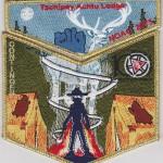 Tschipey Achtu Lodge #95 2015 NOAC Delegate Set S22 X14