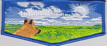 Lowanne Nimat Lodge #219 100th Anniversary Four Season Set Spring Flap S21