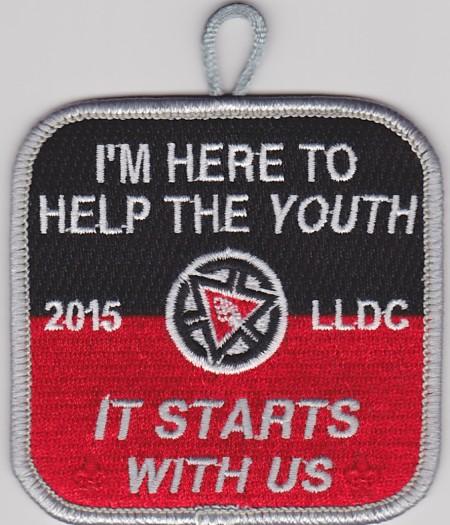 Kintecoying Lodge #4 2015 Adult LLDC Patch 4eX2015-2