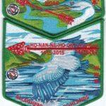 Ho-Nan-Ne-Ho-Ont Lodge #165 2015 NOAC Delegate Set S42 X18