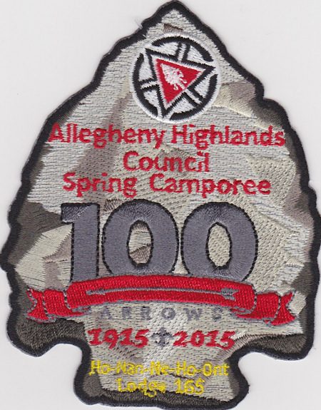 Ho-Nan-Ne-Ho-Ont Lodge #165 100th Anniversary 2015 Spring Camporee eA2015b - No Loop