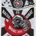 Nacha Nimat Lodge #86 2015 NOAC 2-Piece Delegate Set S55 X37