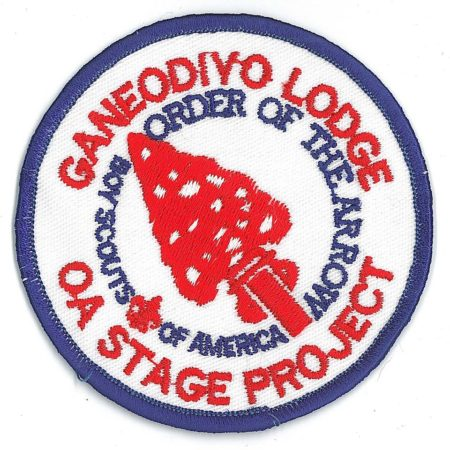 Ganeodiyo Lodge #417 OA Stage Project R3