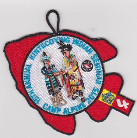 Kintecoying Lodge #4 15th Annual Indian Seminar Cub Scout Participant 4eA2015-4
