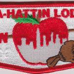 Man-A-Hattin Lodge #82 Last Regular Issue Flap S16