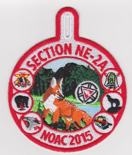 Section NE-2A 2015 NOAC Pocket Patch
