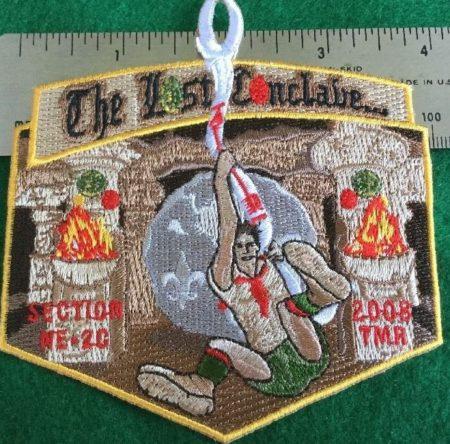Section NE-2C 2008 Conclave VIA Pocket Patch