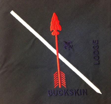 Buckskin Lodge #412 Neckerchief N8