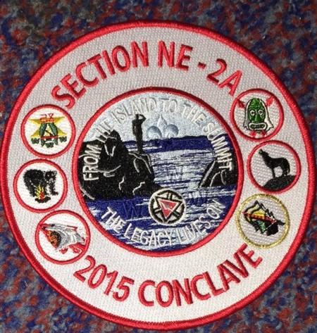 Section NE-2A 2015 Conclave Jacket Patch