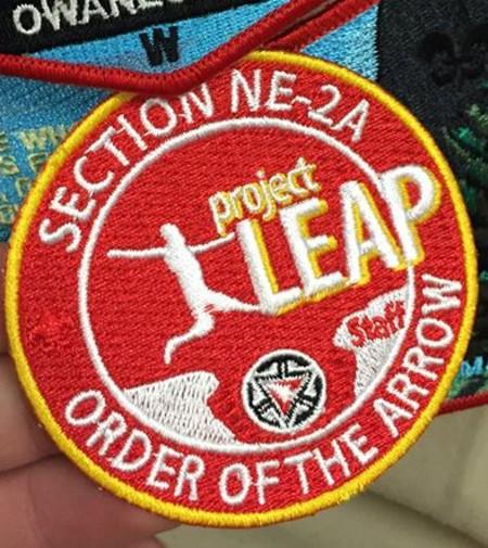 Section NE-2A 2015 Project Leap – Staff Patch