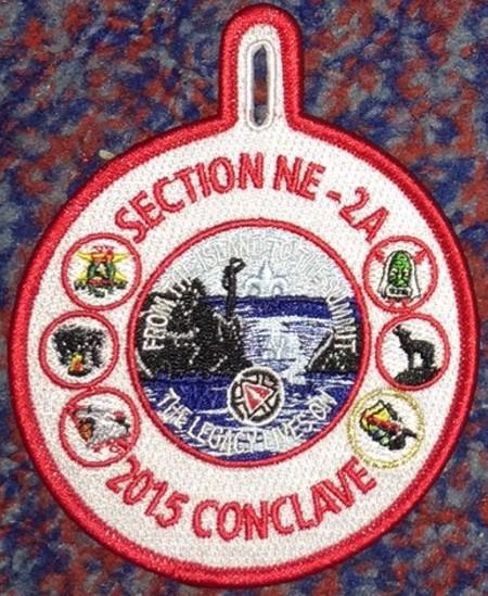Section NE-2A 2015 Conclave Participant Pocket Patch