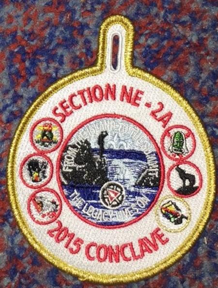Section NE-2A 2015 Conclave Staff Pocket Patch