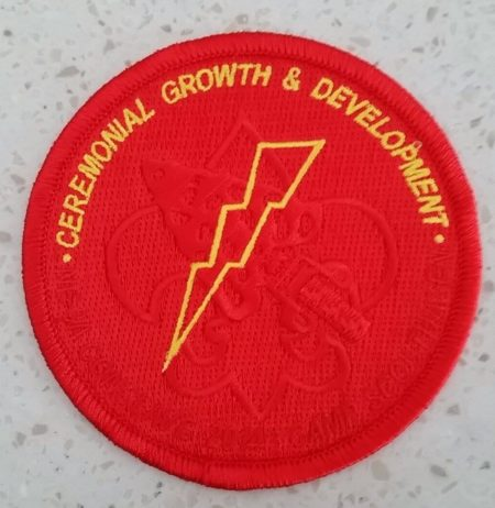 Section NE-3A 2014 Conclave Ceremonial Growth and Development Pocket Patch