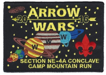 Section NE-4A 2016 Conclave Pocket Patch