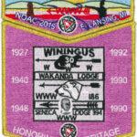 Look Back – Tkaen DoD Lodge #30 2015 NOAC Contingent Set S39 X10