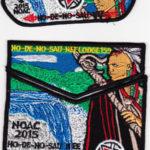 Ho-De-No-Sau-Nee Lodge #159 2015 NOAC Trader Set S59 X24 X25
