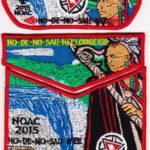 Ho-De-No-Sau-Nee Lodge #159 2015 NOAC Contingent Set S60 X26 X27