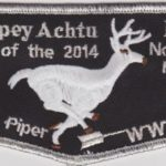 Tschipey Achtu Lodge #(95) 2014 Home of the Northeast Region Chief – Kyle Piper SMY F2a TL