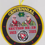 Section NE-2B Centennial Involvement Award 1915-2015