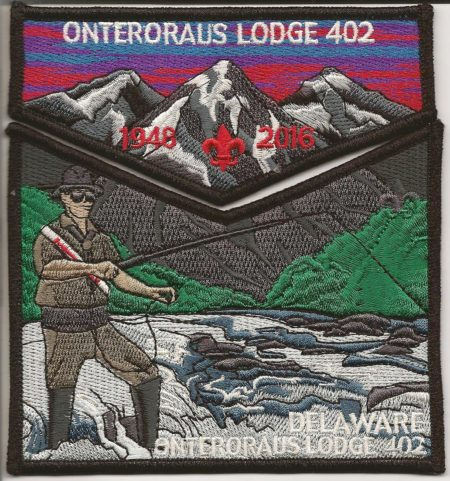 Onteroraus Lodge #402 Delaware County Death Flap Set S62 X11