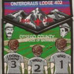 Onteroraus Lodge #402 Ostego County Death Flap Set S62 X12