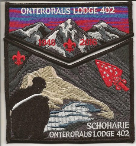 Onteroraus Lodge #402 Schoharie County Death Flap Set S62 X13