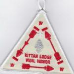 Kittan Lodge #364 Vigil Patch X21