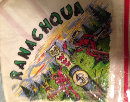 Ranachqua Lodge 40th Anniversary Neckerchief N8