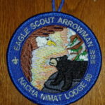 Nacha Nimat Lodge #86 Eagle Scout Arrowman Round R1