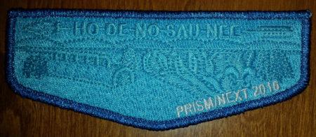 Ho-De-No-Sau-Nee Lodge #159 Prism/Next 2016 Flap S62