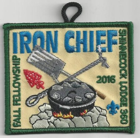 Shinnecock Lodge #360 Fall Fellowship Patch eX2016