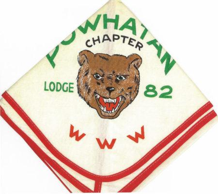 Man-A-Hattin Lodge #82 Powhatan Chapter Neckerchief N2