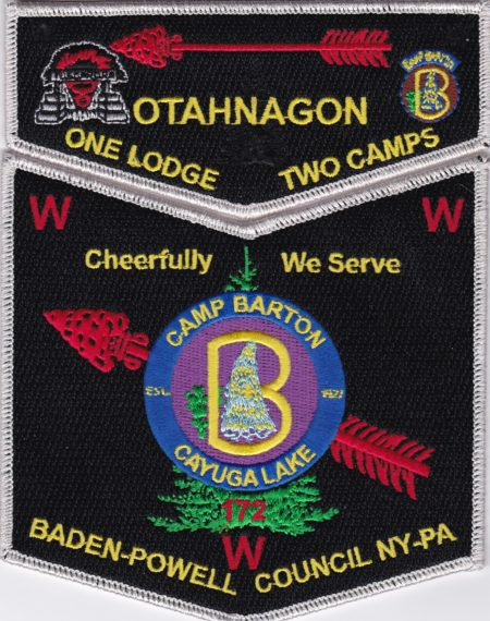 Otahnagon Lodge #172 One Lodge Two Camps - Barton SMY Set S39 X10