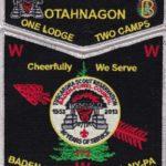 Otahnagon Lodge #172 One Lodge Two Camps – Tuscarora SMY Set S39 X11