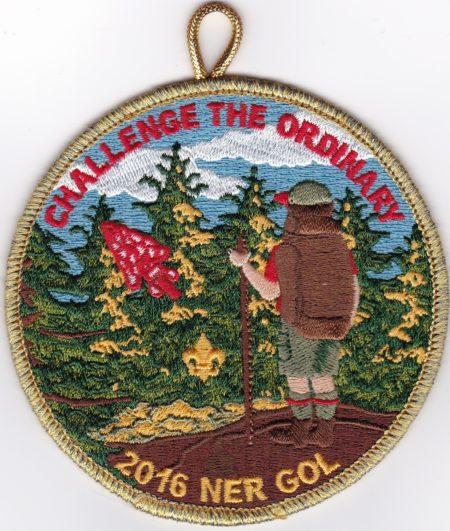 NER OA – 2016 Gathering Of Leaders Staff Patch