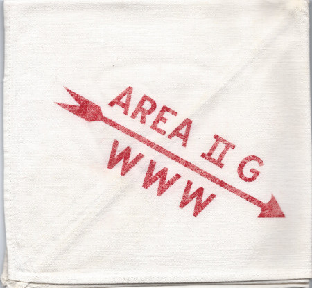Area 2-G 1955 Conclave Neckerchief