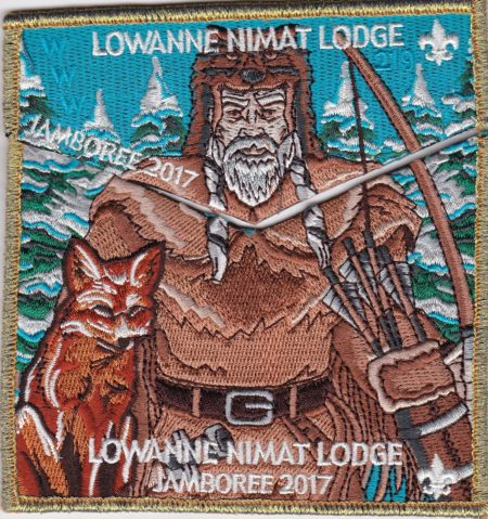 Lowanne Nimat Lodge #219 2017 Jamboree Set GMY Border  S31 X13