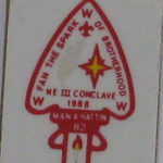 Section NE-3 1988 Conclave Pin