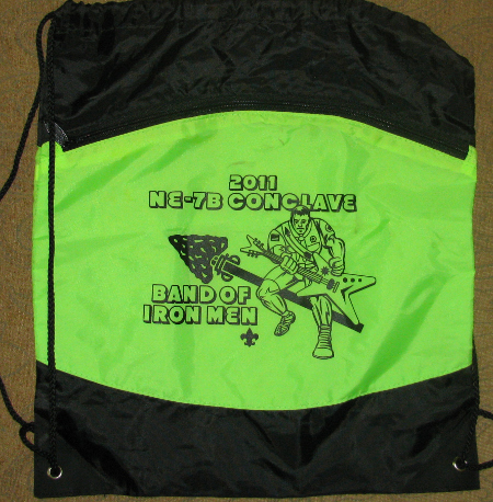 Section NE-7B 2011 Conclave Backpack