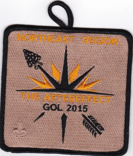 NER OA – 2015 Gathering Of Leaders Participant Patch