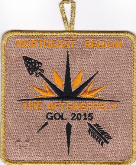NER OA – 2015 Gathering Of Leaders Staff Patch