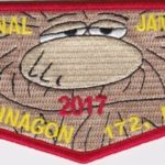 Otahnagon Lodge #172 2017 National Jamboree Flap S41