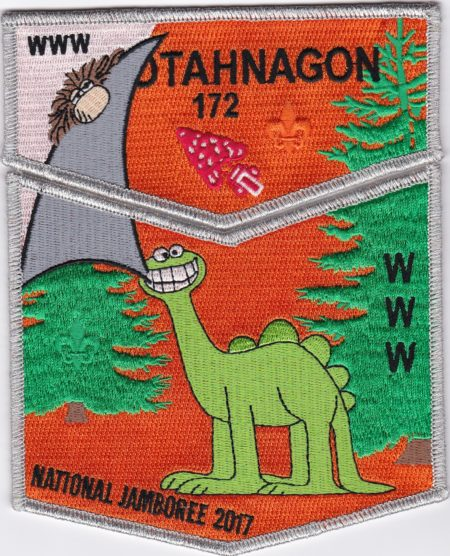 Otahnagon Lodge #172 2017 National Jamboree SMY Border Set S43/X15