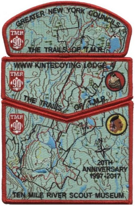 Kintecoying Lodge #4 Trails of Ten Mile River 3-piece set