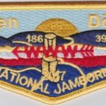 Tkaen DoD Lodge #30 2017 National Jamboree Flap S44