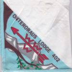Onteroraus Lodge #402 OA Neckerchief N3.5?