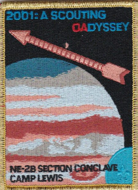 Section NE-2B 2001 Conclave Council of Chiefs Pocket Patch