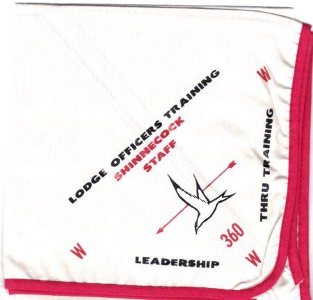 Shinnecock Lodge #360 Lodge Officers Training Staff Neckerchief